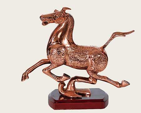铜工艺-马踏飞燕