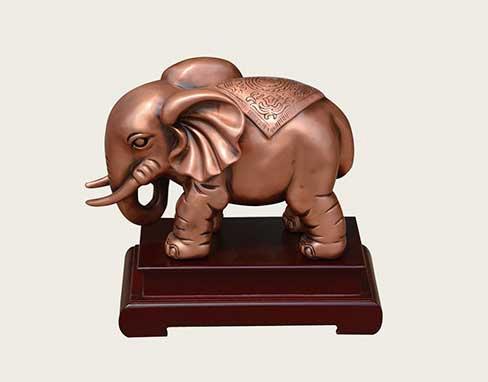 铜工艺-平安吉祥(大象)